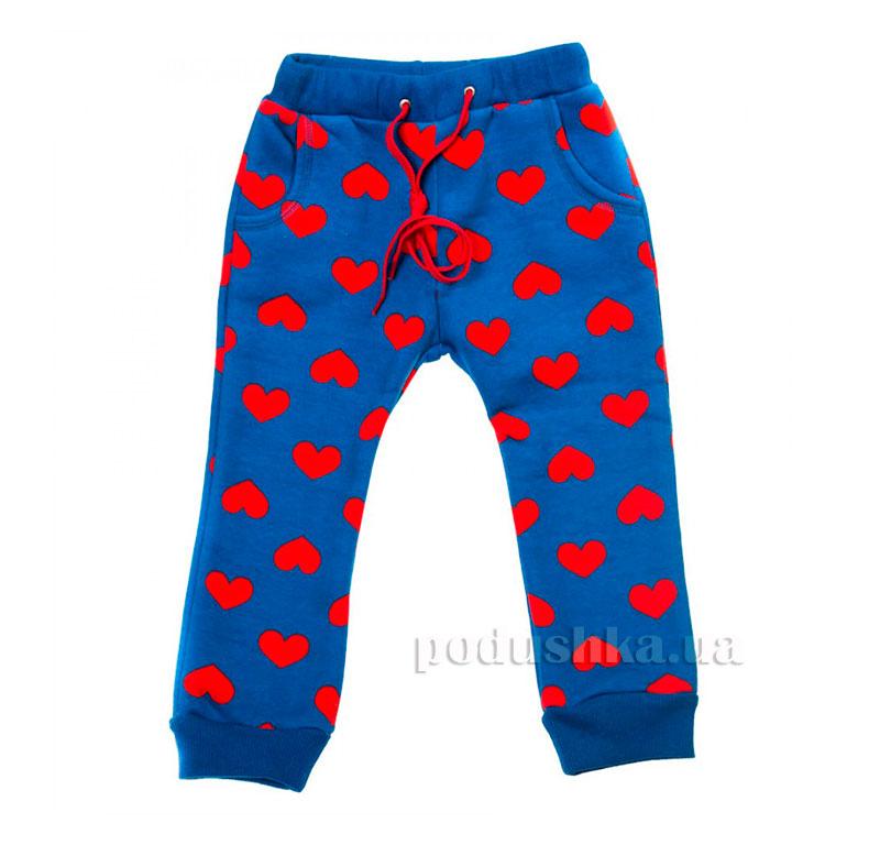 Спортивные брюки Сердце Kids Couture 16-11 синие