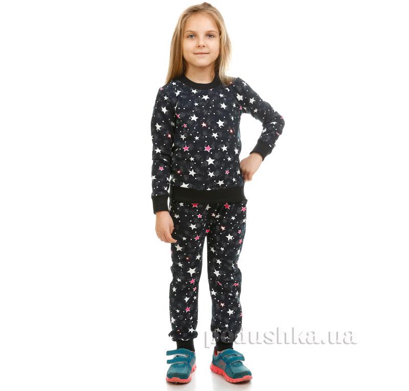 Спортивные брюки Звездочки Kids Couture синие