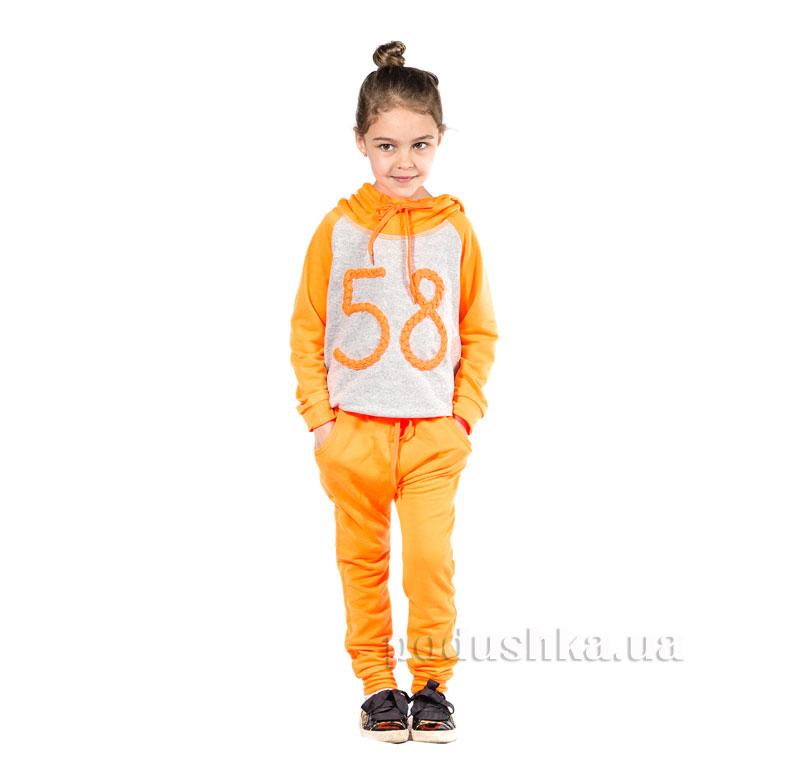 Спортивный костюм 58 Kids Couture оранжевый