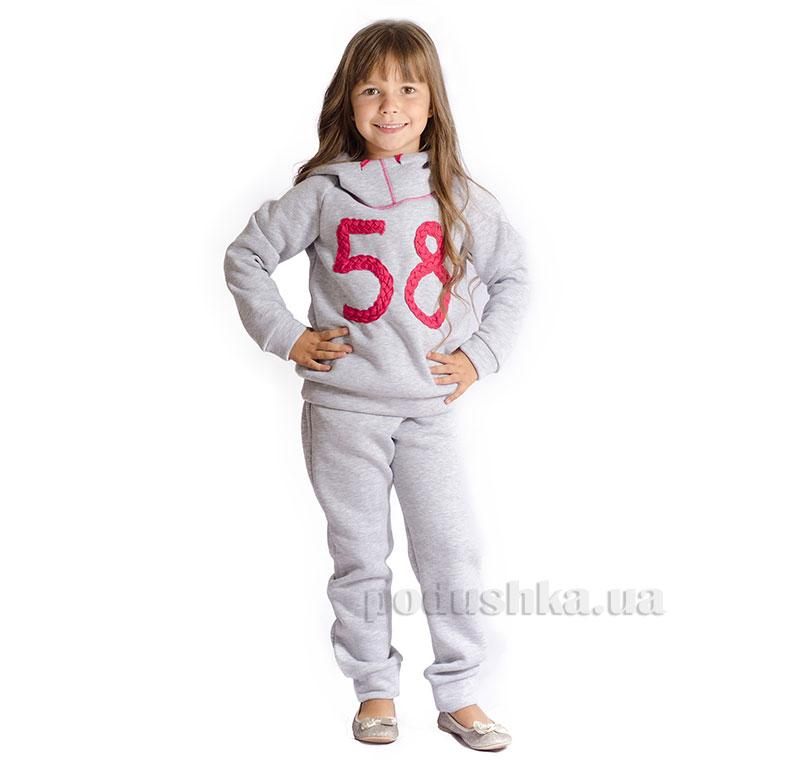 Спортивный костюм 58 Kids Couture серый