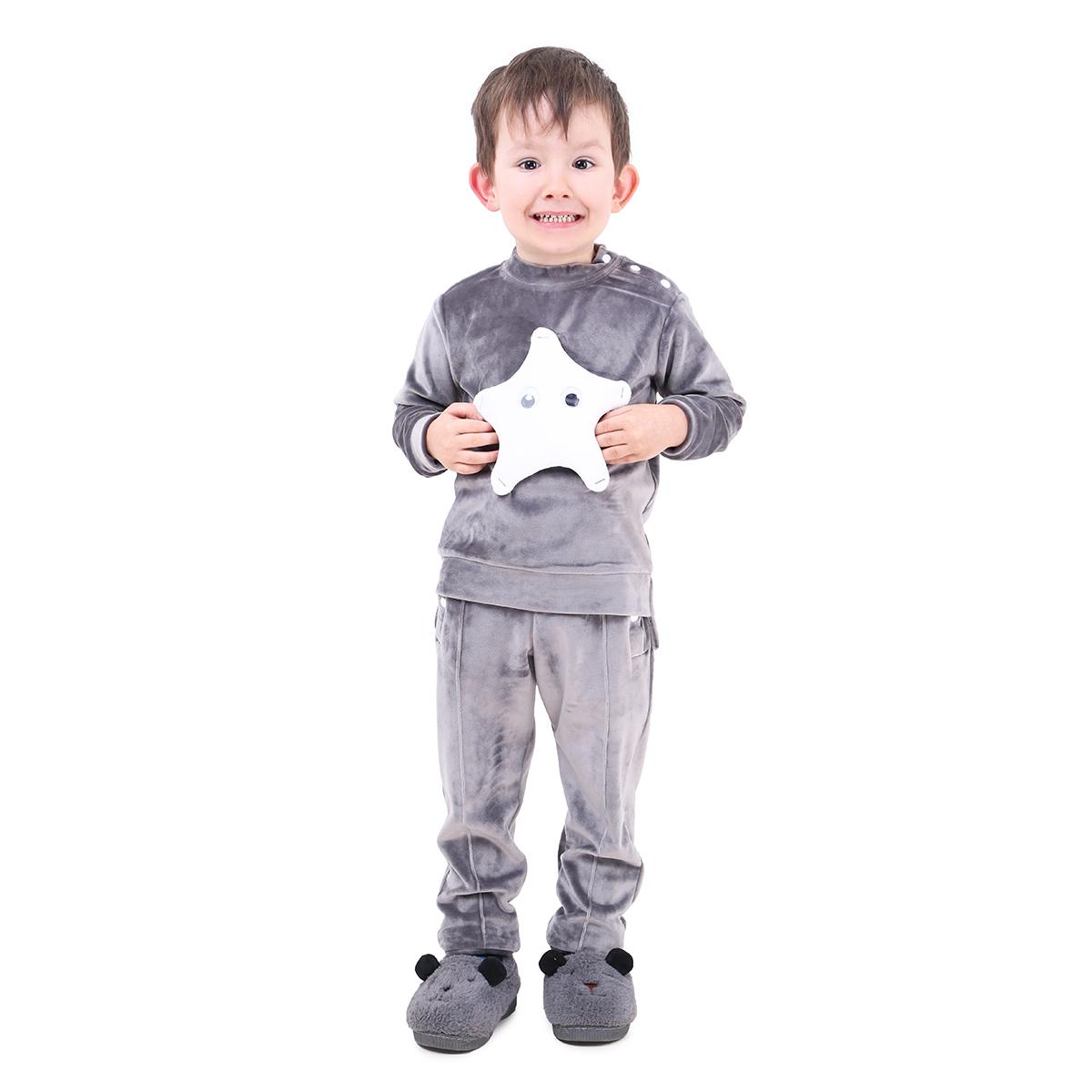 Спортивный костюм детский Timbo Felix K045238 серый