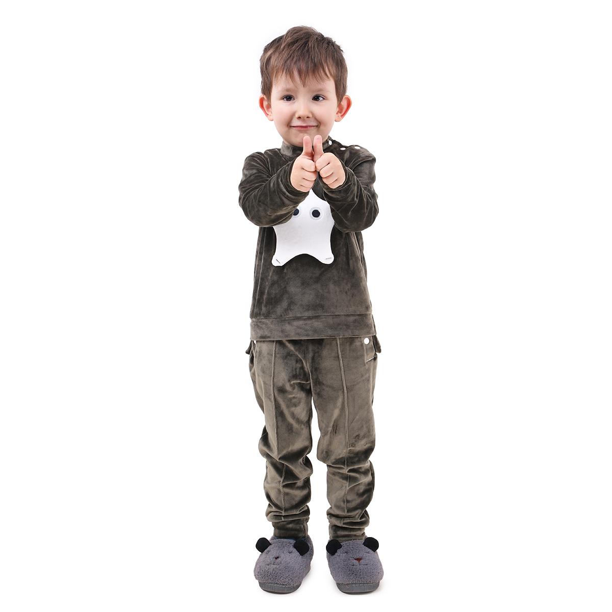 Спортивный костюм детский Timbo Felix K045252 хаки
