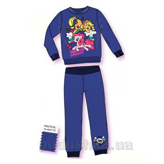 Спортивный костюм для девочек Sun City Пони NH6037blue