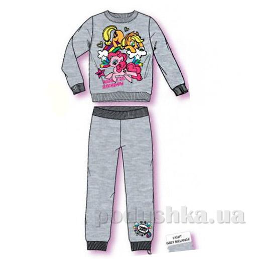 Спортивный костюм для девочек Sun City Пони NH6037grey