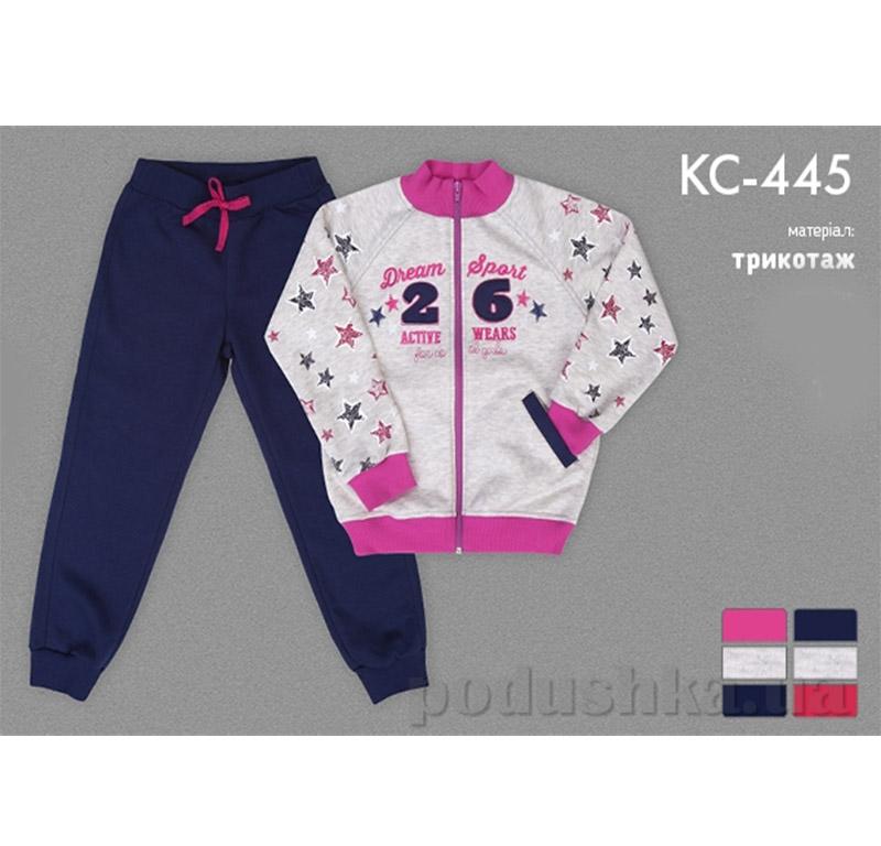 Спортивный костюм для девочки Bembi КС445 трикотаж