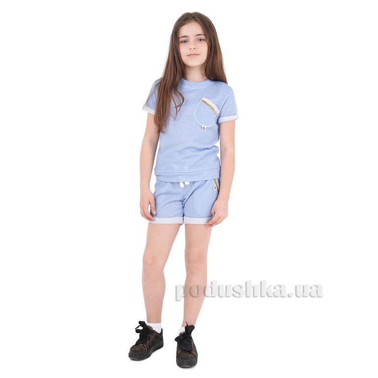 Спортивный костюм для девочки Hailey Timbo K033525 золото голубой