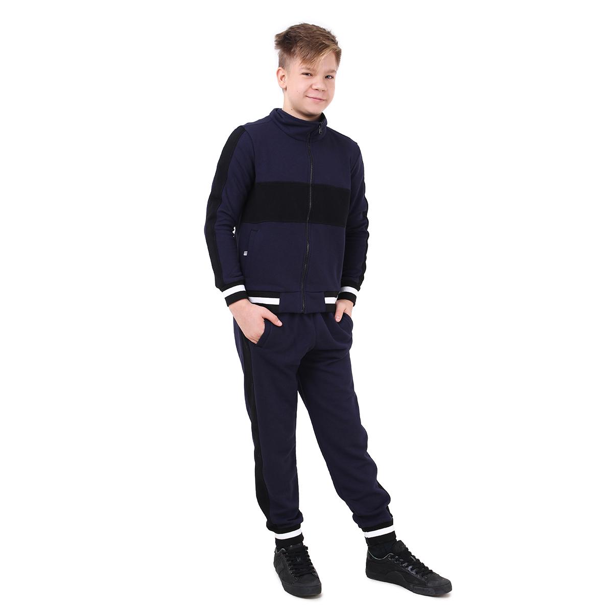 Спортивный костюм для мальчика Timbo Alan K045184 темно-синий