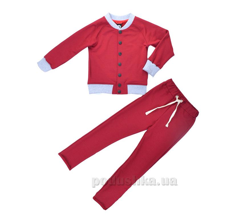 Спортивный костюм Flipper Timbo К010185 бордовый