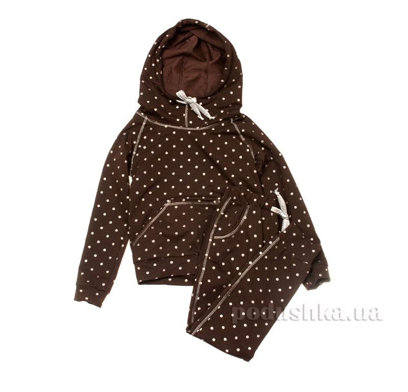 Спортивный костюм Горох Kids Couture коричневый