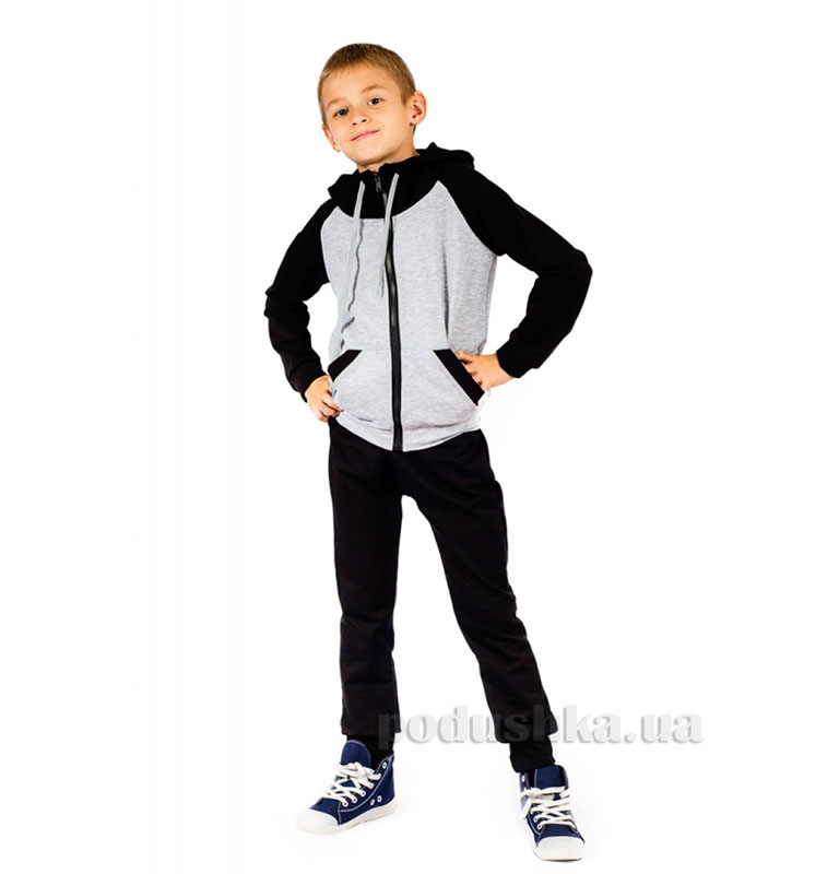 Спортивный костюм на змейке Kids Couture черный