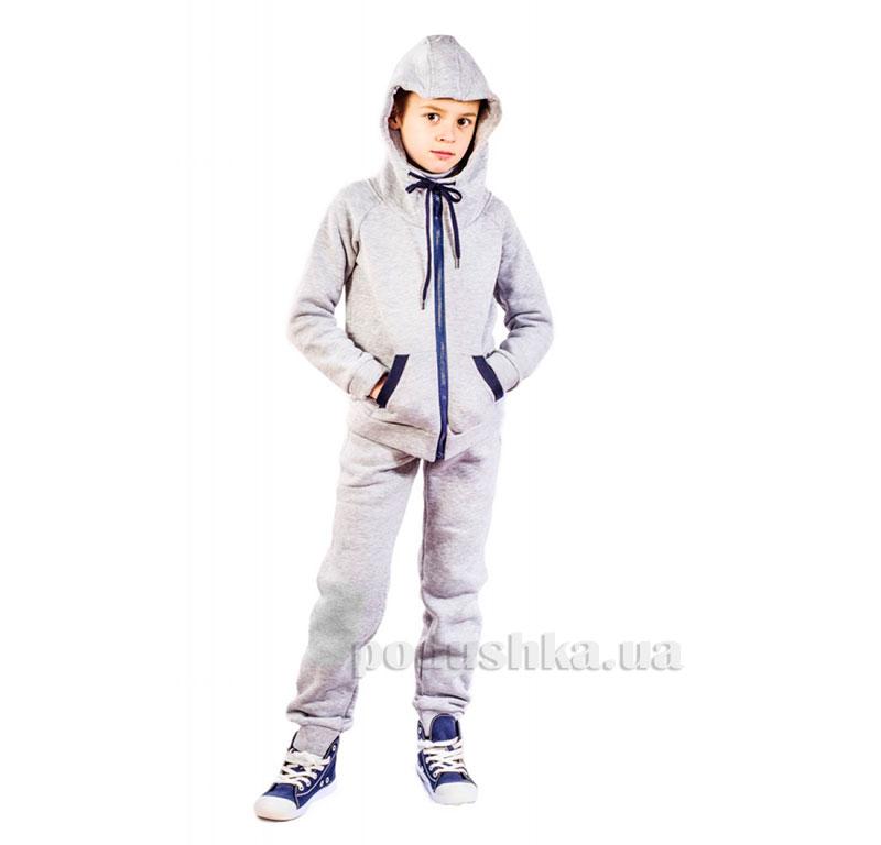 Спортивный костюм на змейке Kids Couture серый
