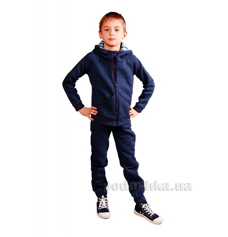 Спортивный костюм на змейке Kids Couture темно-синий