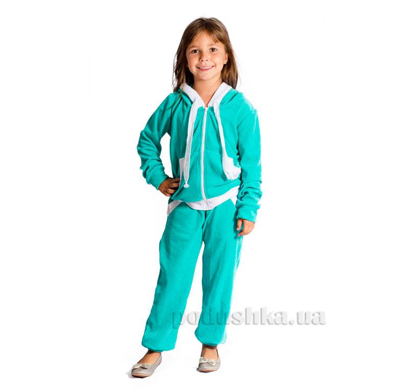 Спортивный костюм Велюр Kids Couture ментоловый