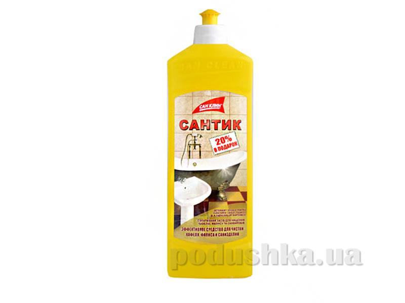 Средство для мытья кафеля в ванной Сан Клин Сантик 500 мл