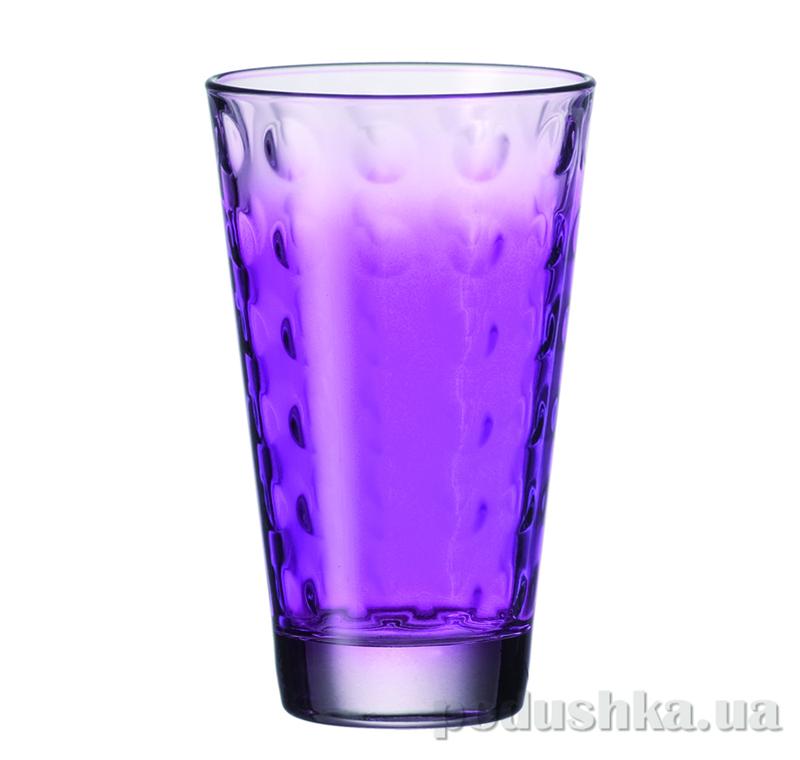 Стакан большой Leonardo Optic фиолетовый