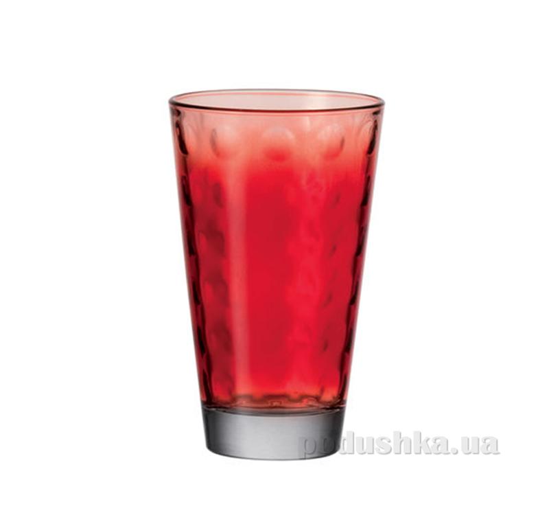 Стакан большой Leonardo Optic красный