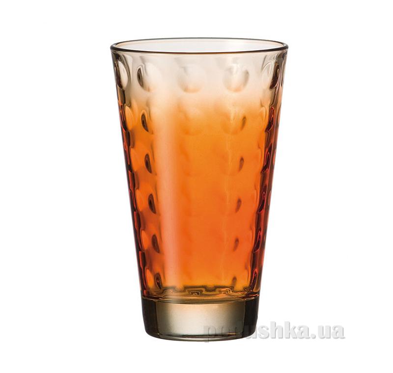 Стакан большой Leonardo Optic оранжевый