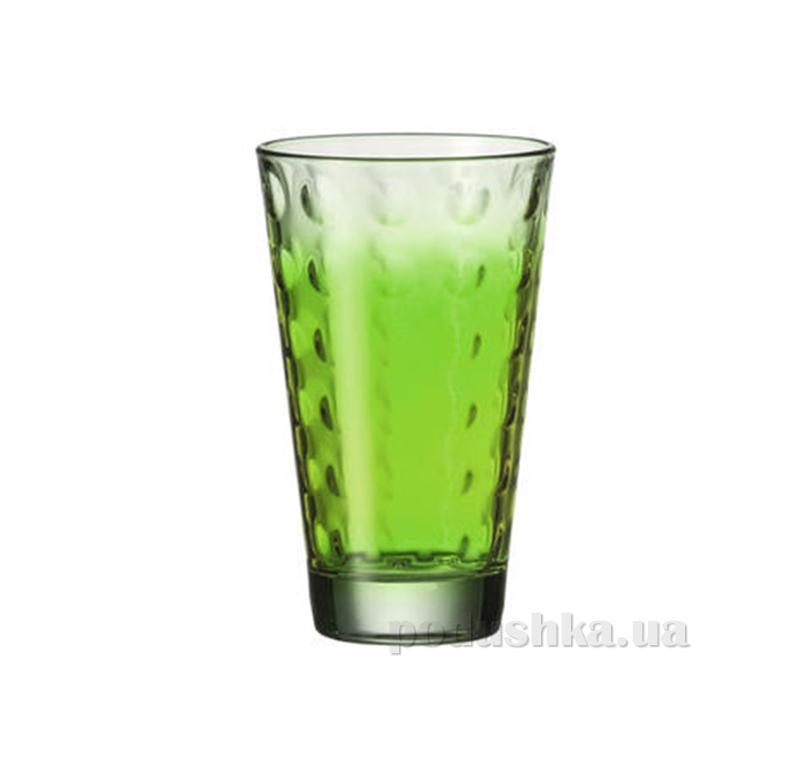 Стакан большой Leonardo Optic зеленый