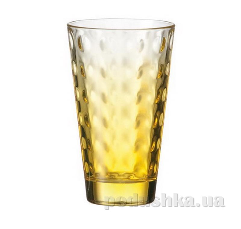 Стакан большой Leonardo Optic желтый