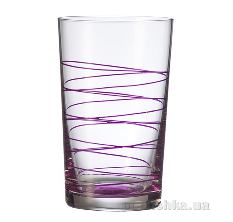 Стакан большой Leonardo Spirale фиолетовый