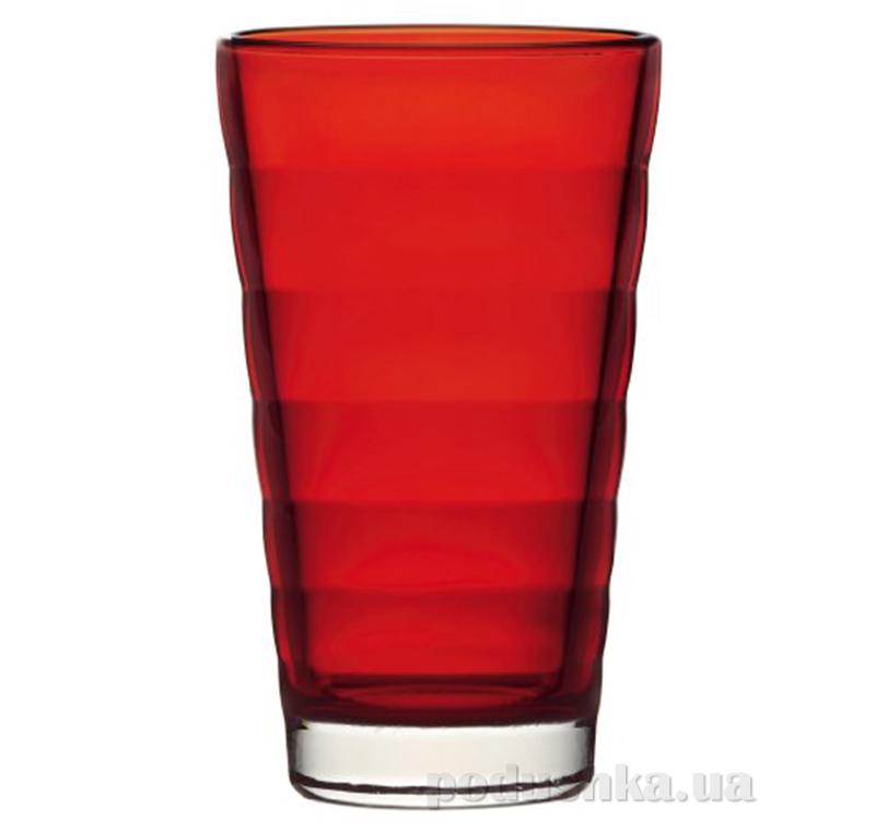 Стакан большой Leonardo Wave красный