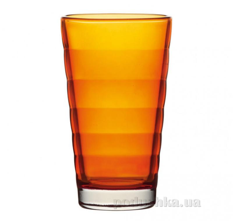 Стакан большой Leonardo Wave оранжевый