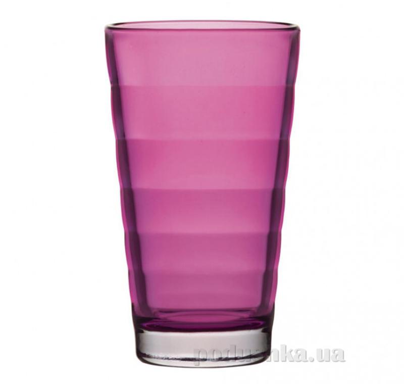 Стакан большой Leonardo Wave розовый