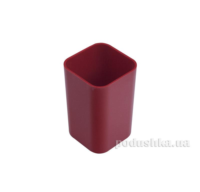 Стакан для ручек Аринка красный 81672