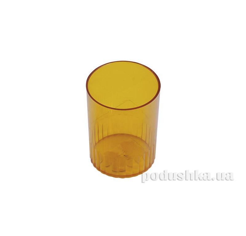 Стакан для ручек Аринка желтый 81878