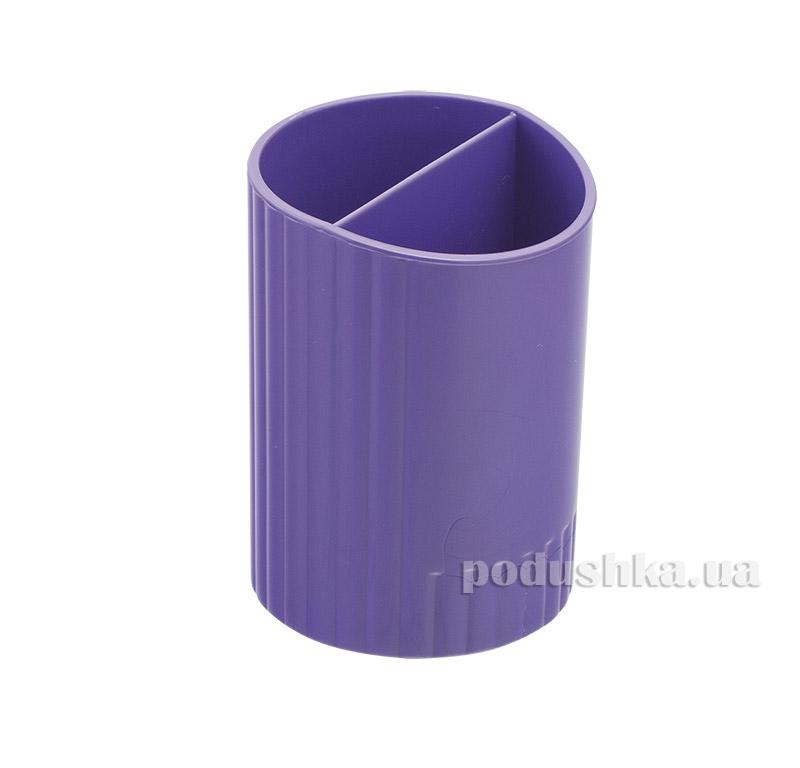 Стакан для ручек Zibi круглый фиолетовый ZB.3000-07