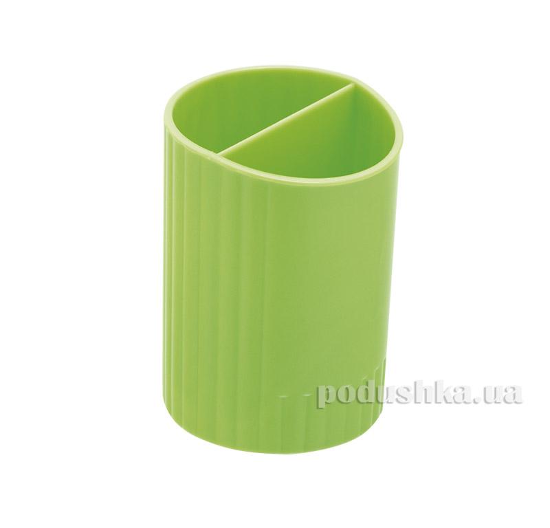 Стакан для ручек Zibi круглый салатовый ZB.3000-15