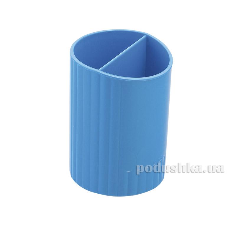 Стакан для ручек Zibi круглый синий ZB.3000-02