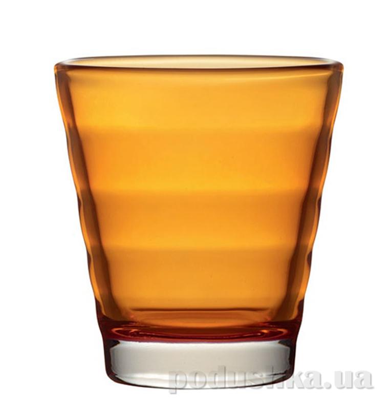 Стакан для виски Leonardo Wave оранжевый