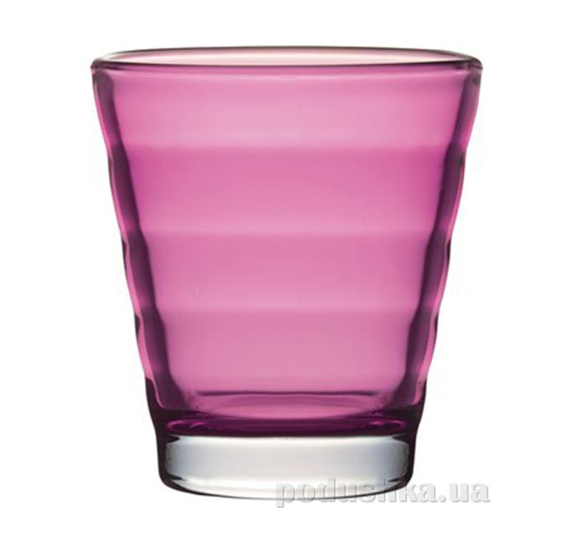 Стакан для виски Leonardo Wave розовый