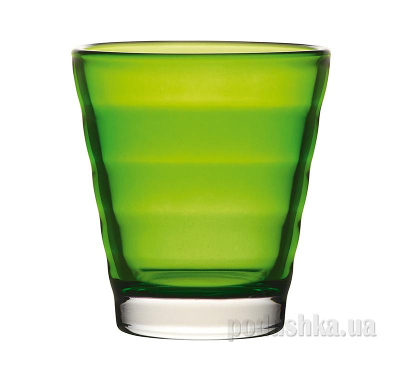 Стакан для виски Leonardo Wave зеленый