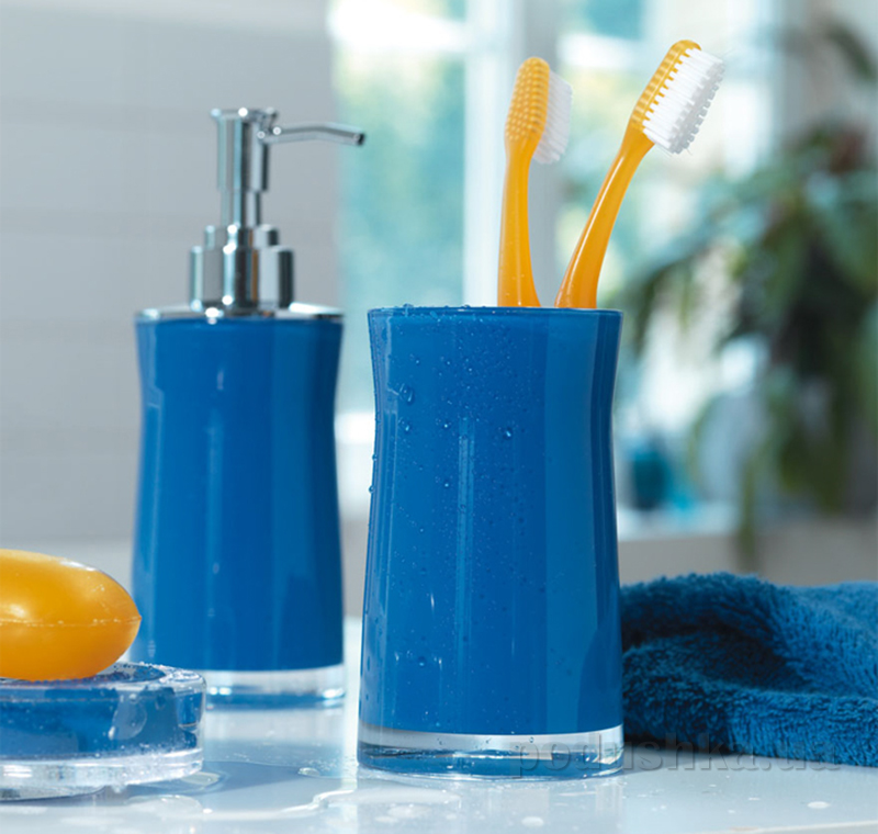 Стакан для зубных щеток Spirella Sydney Acrylic