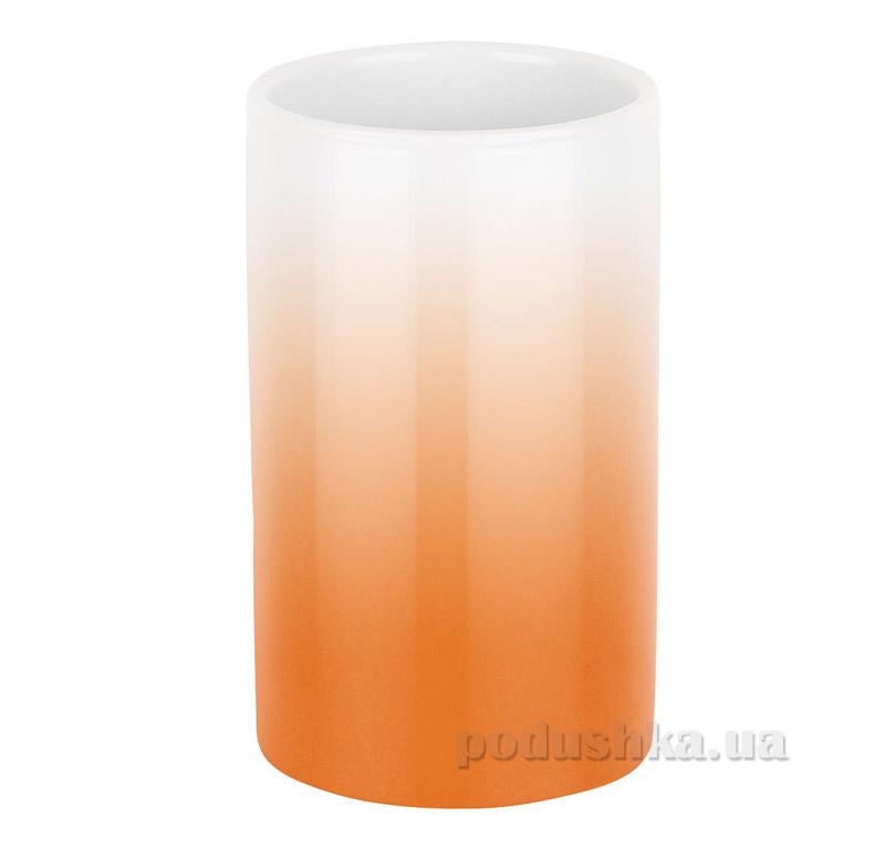 Стакан Spirella Porcelain Tube Gradient оранжевый 10.17956