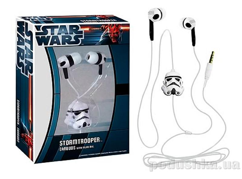 Star Wars Stormtrooper Earbuds with Microphone Наушники Штурмовика из Звездных войн с микрофоном Funko