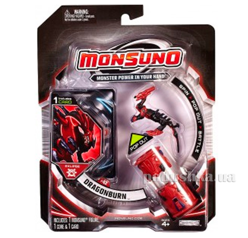 Стартовый набор Monsuno Eklipse Dragonburn 1-Packs W4 34437-42915-MO
