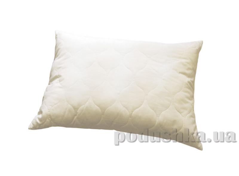 Стеганая подушка Билана в сатиновом чехле на молнии