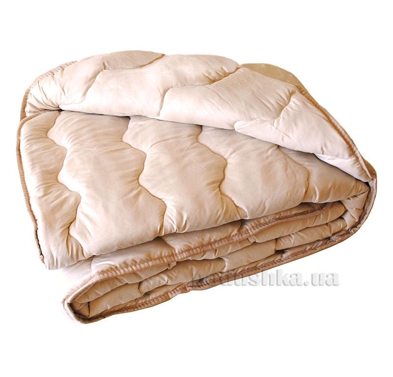 Стеганое шерстяное одеяло Vladi бежевое