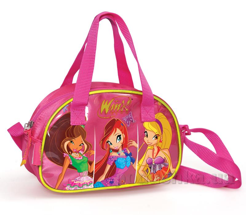 Стильная детская сумка на плечо Винкс Winx 62595