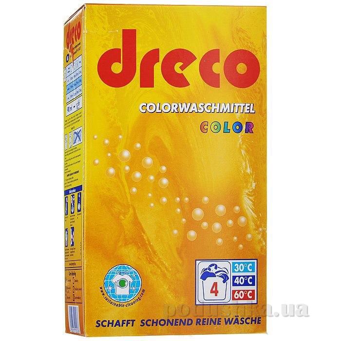 Стиральный порошок для цветного белья Dreco Colorwaschmittel Color 600 г