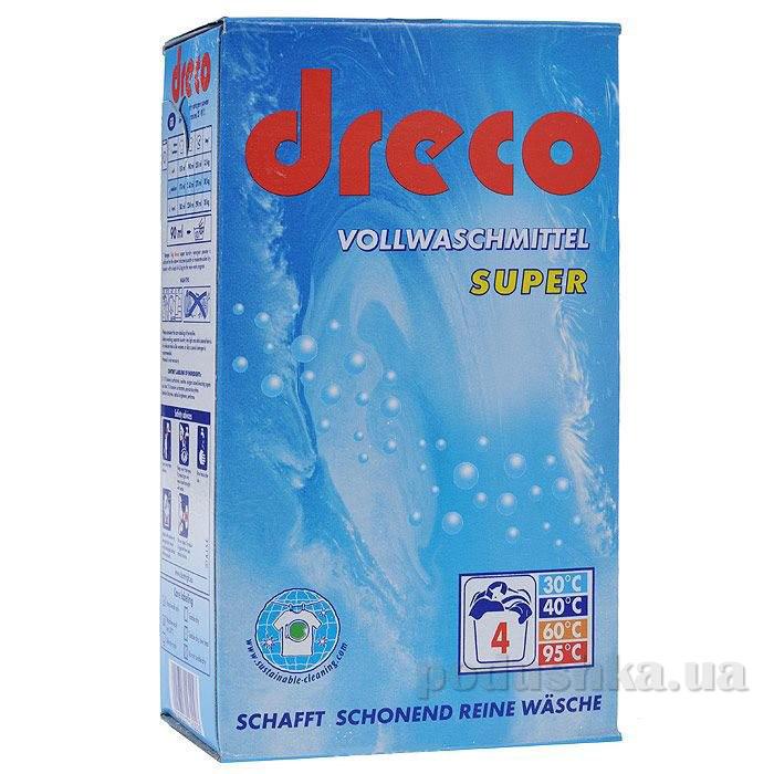 Универсальный стиральный порошок Dreco Vollwaschmittel Super 600 г