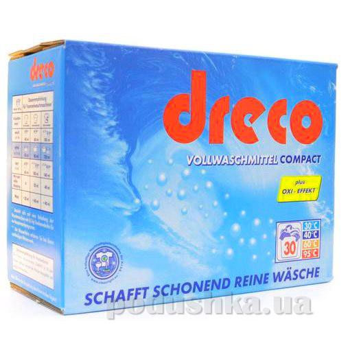 Стиральный порошок универсальный концентрированный Dreco Vollwaschmittel Compact