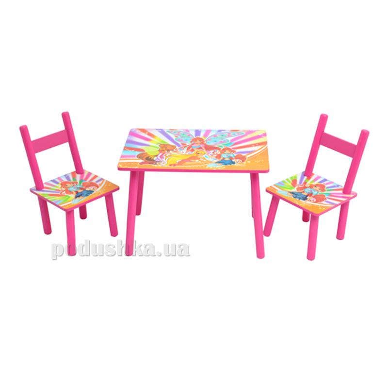 Столик Bambi 2547-33 с двумя стульчиками