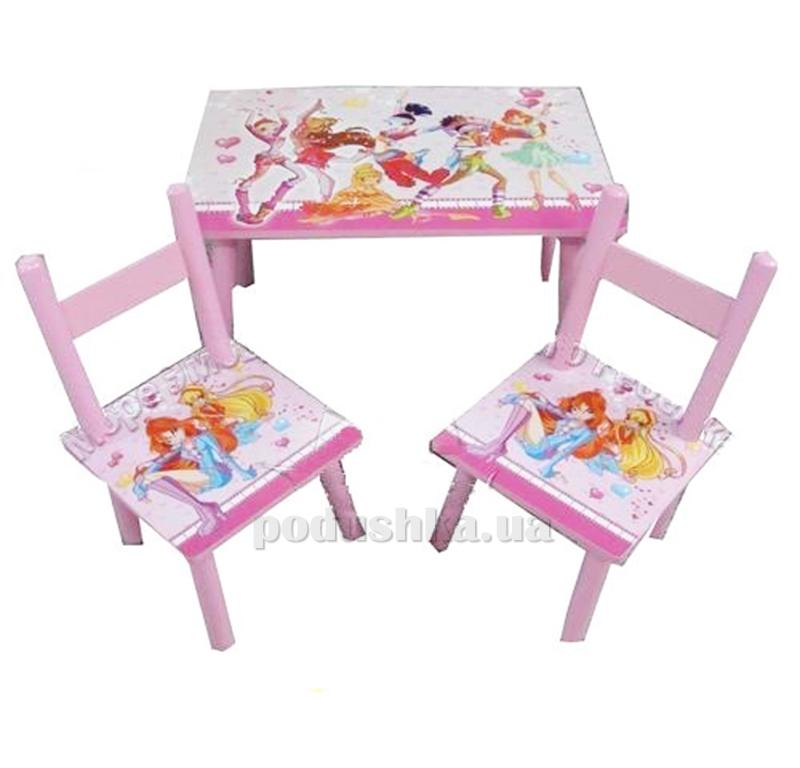 Столик Bambi 2547-34 с двумя стульчиками