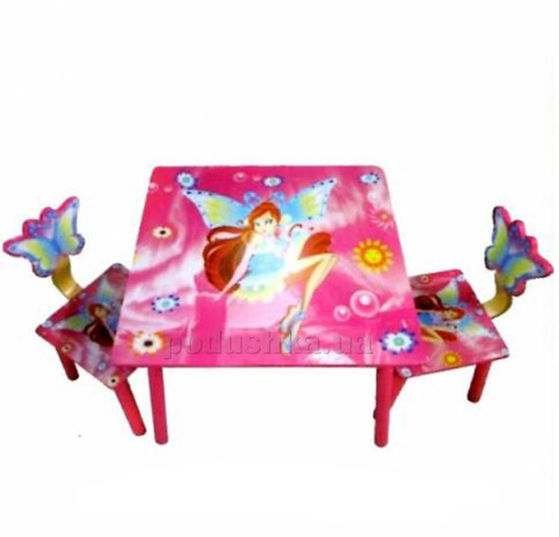 Столик Bambi D 11551 с двумя стульчиками