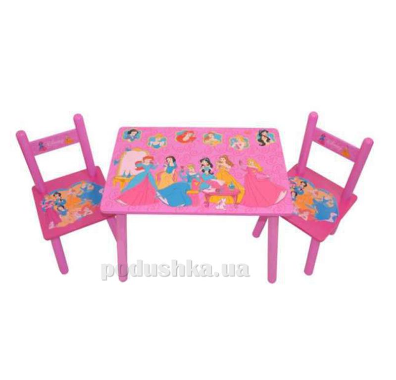 Столик Bambi M 1109 с двумя стульчиками Принцессы