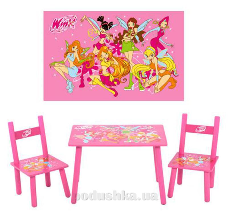 Столик Bambi со стульями M 1508 Winx